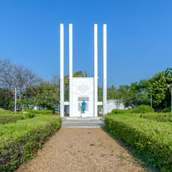 French War Memorial in Pondicherry