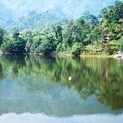 Ganga Lake in Itanagar
