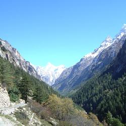 Gangotri Hills in Gangotri