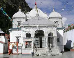 Gangotri Temple in Gangotri