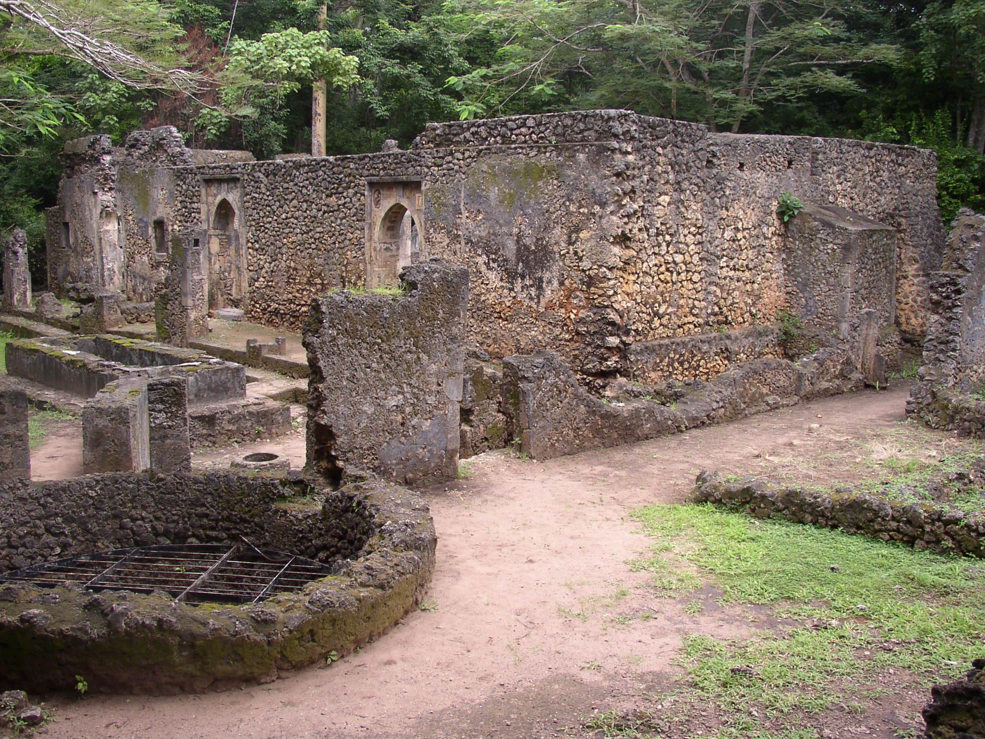 Gedi Ruins