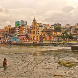 Godavari River in Nashik