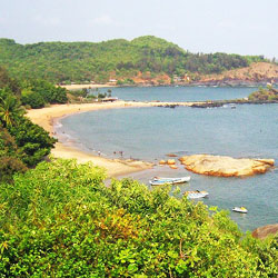 Gokarna Beach in Karwar