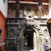 Golden Temple (Hiranya Varna Mahavihar) in Patan
