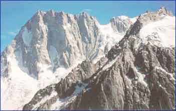 Grandes Jorasses in Bareges