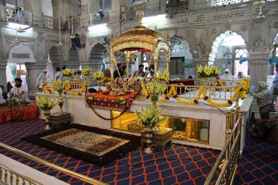Gurdwara Sis Ganj Sahib in New Delhi