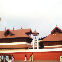 Guruvayoor Temple in Trichur