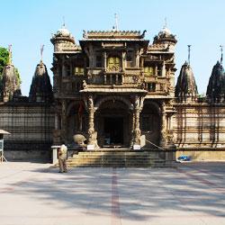 Hatheesing Jain Temple in Ahmedabad
