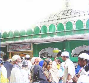 Hazrat Nizamuddin Auliya in New Delhi