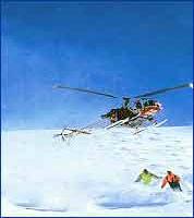 Heli Skiing Manali