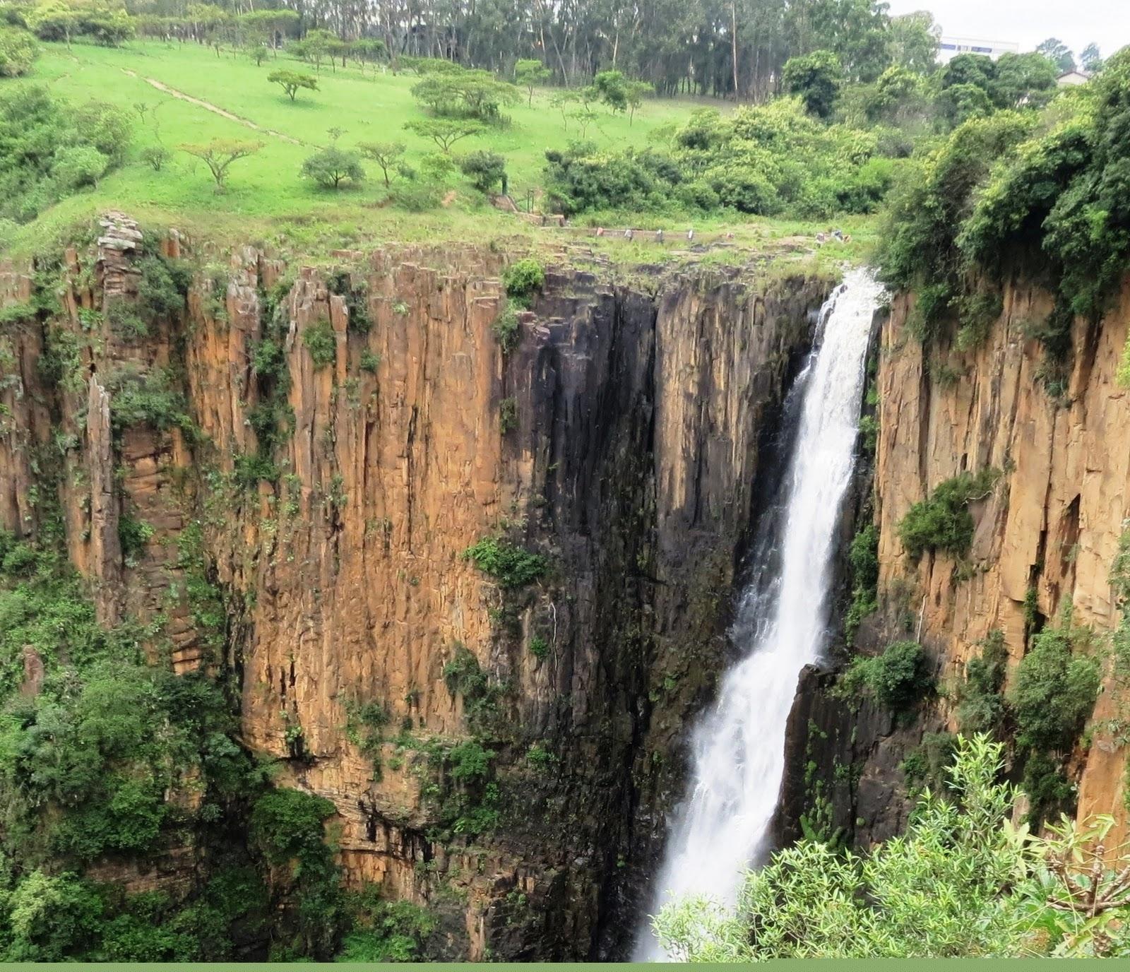 Howick Falls in Kwazulu Natal