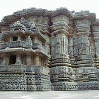 Hoysaleswara Temple in Belur