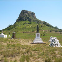 Isandlwana Hill in Battlefields