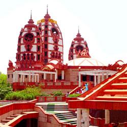 Iskcon Temple in New Delhi