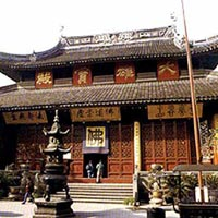 Jade Buddha Temple in Shanghai