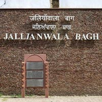 Jallian Wala Bagh in Amritsar