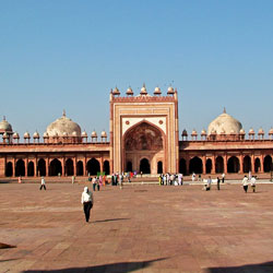Jama Masjid in Agra