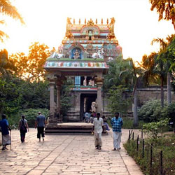 Jambukeshwara Temple in Trichy