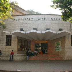 Jehangir Art Gallery in Mumbai