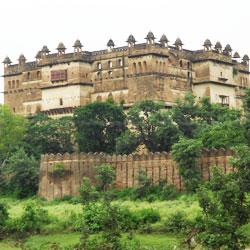 Jehangir Mahal in Orchha