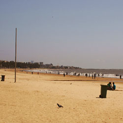Juhu Beach in Mumbai