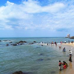 Kanyakumari Beach in Kanyakumari