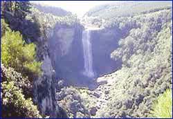 Karkloof Falls in Mpumalanga