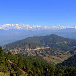 Kausani Hills in Bageshwar