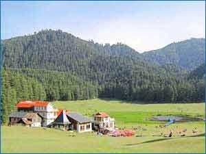 Khajjiar Hills in Khajjiar