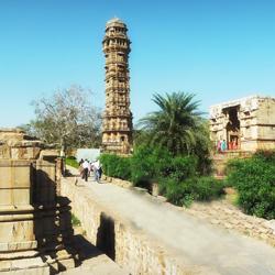Kirti Stambh in Chittorgarh