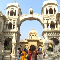 Krishna Balarama Mandir in Mathura