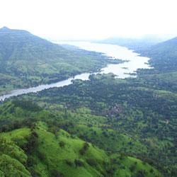 Krishna River in Mahabaleshwar