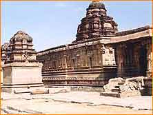 Krishna Temple in Hampi