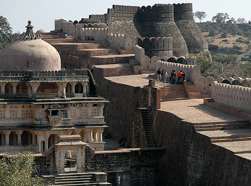 Kumbhalgarh India  City new picture : Kumbhalgarh Fort – The Great Wall of India