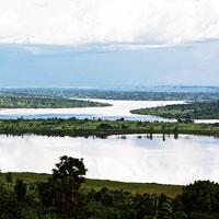 Lake Muhazi Rwanda in Eastern-Rwanda
