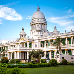 Lalitha Mahal Palace in Mysore