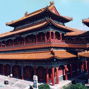 Lama Temple  in Beijing