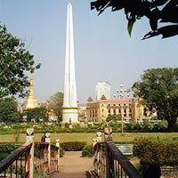 Maha Bandula Park in Yangon