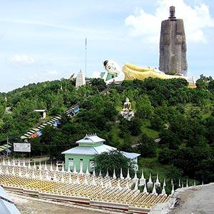 Maha Bodhi Ta Htaung in Monywa