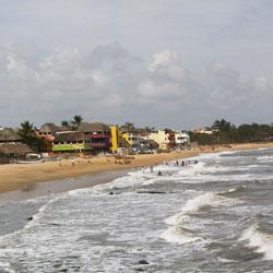 Mahabalipuram Beach in Kanyakumari