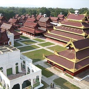Mandalay Palace in Mandalay