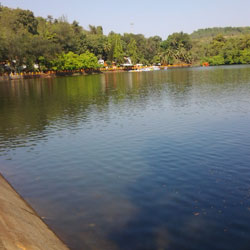 Mayem Lake in Goa City