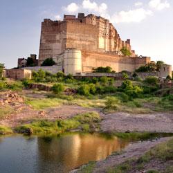 Mehrangarh Fort in