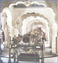 Mehrangarh Fort Museum in Jodhpur