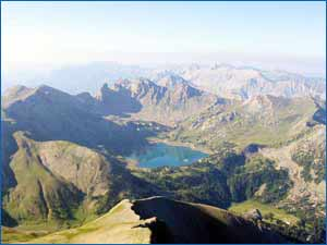 Mont Pelat in Bareges