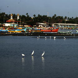 Mopila Bay in Kannur