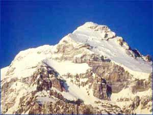 Mount Aconcagua in San Juan