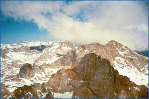 Mount Langley in California