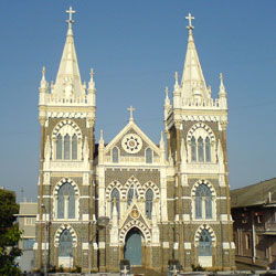 Mount Mary Church in Mumbai