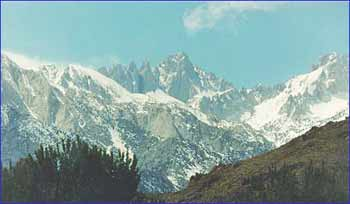 Mount Whitney in California